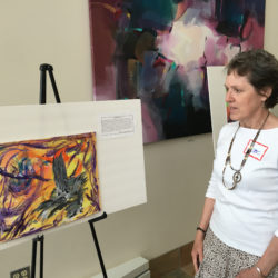 """When I took the Healing Art Workshop I was in the middle of chemotherapy and dealing with the loss of my husband four months prior.  After taking the class I felt I could move forward in my life with more focus, balance, positive energy and actual joy.  The facilitators had a way of helping me to look inside of myself to feelings that needed to be recognized and released. This happened through art.  It saved me."""